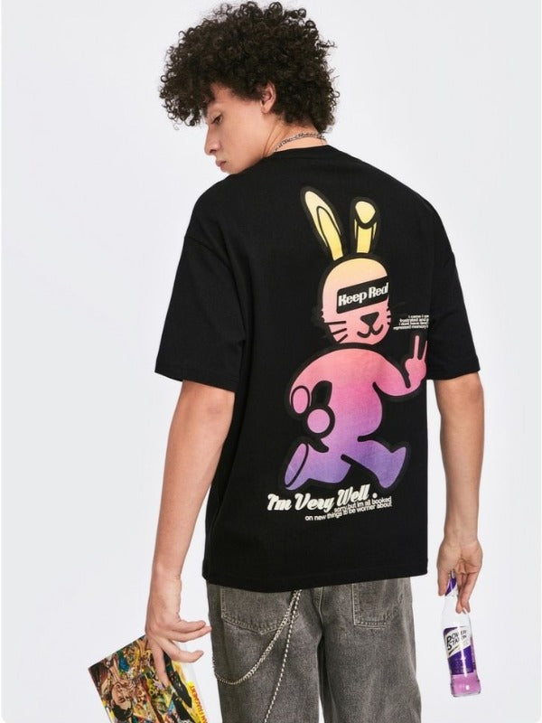 Rabbit T-Shirt (2 Colors Available) 3