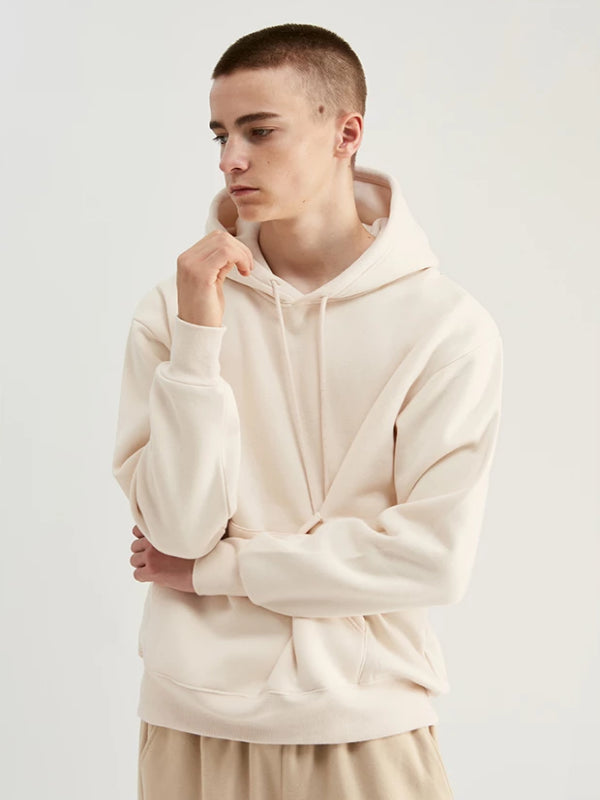 Pullover Hoodie in Apricot Color