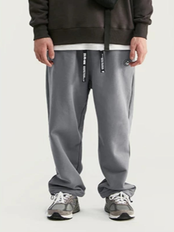 """Art"" Loose Fit Sweatpants in Dark Grey Color - This Is For Him"