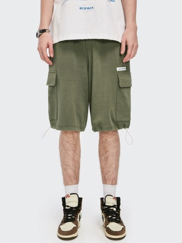 """A Sign Of Good Taste"" Army Green Shorts 4"