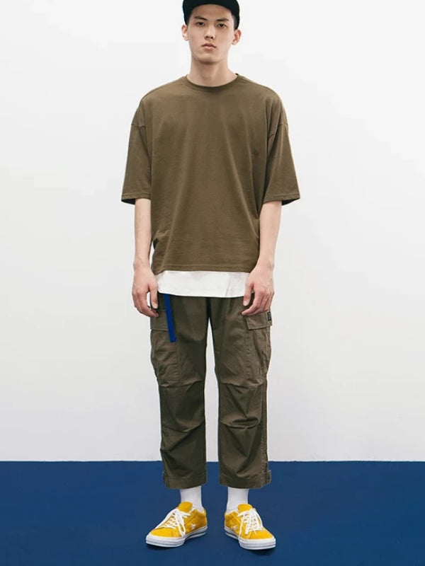 Army Green Oversize T-Shirt