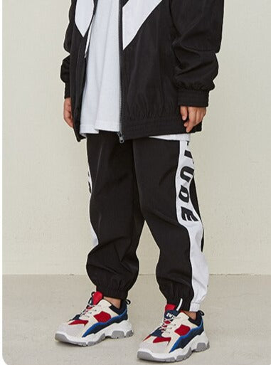 "Boys ""Attitude"" Black Sweatpants - This Is For Him"