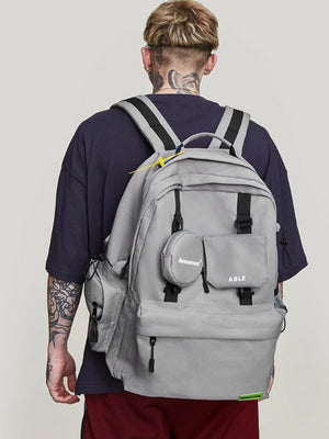 """Amusement"" Backpack in Grey Color"