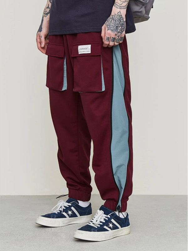 Lightweight Sweatpants in Red Color