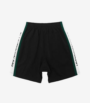 """Black Technology"" Print Shorts"