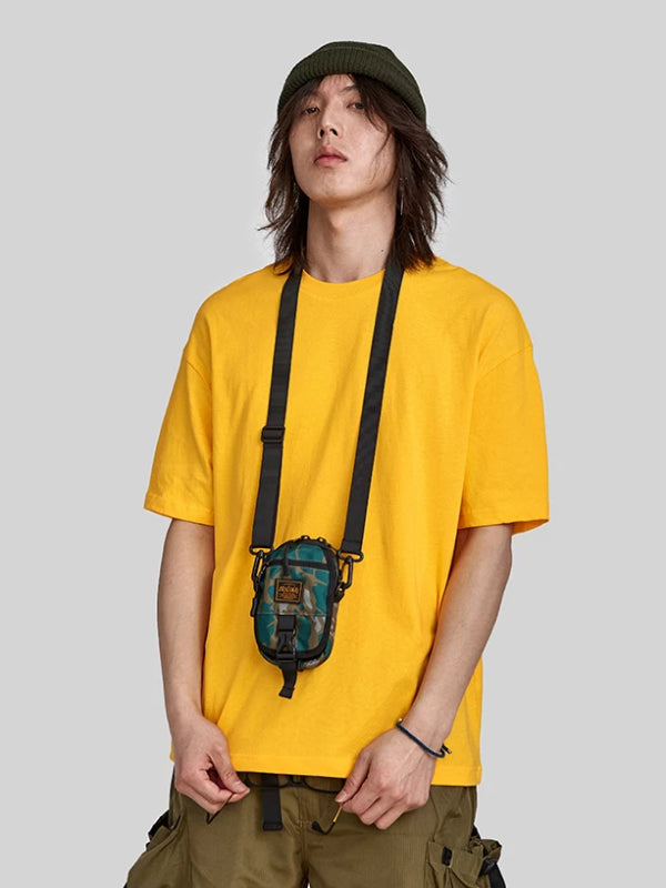Yellow Loose Fit Basic T-Shirt