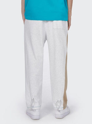 Light Grey with Brown Sweatpants 4
