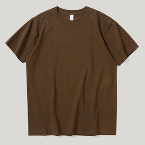 Brown Basic T-Shirt