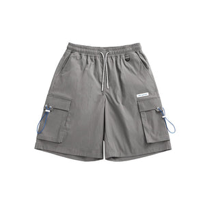 """A Sign Of Good Taste"" Gray Cargo Shorts"