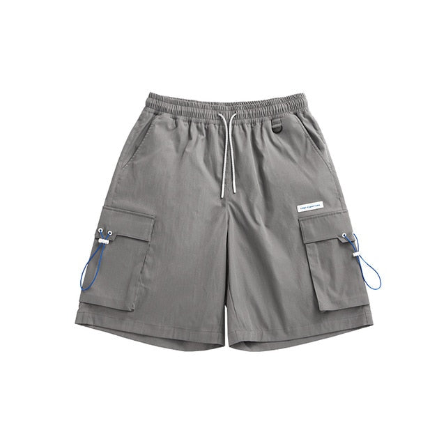 """A Sign Of Good Taste"" Gray Cargo Shorts 5"