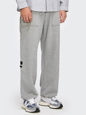 """Positioning"" Grey Sweatpants 3"