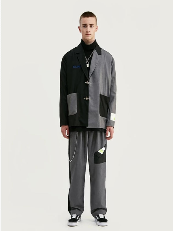 Take Over Reworked Oversize Blazer And Pants