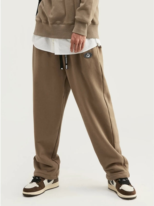 """Art"" Loose Fit Sweatpants in Camel Color"