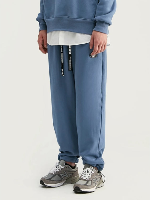 """Art"" Loose Fit Sweatpants in Blue Color - This Is For Him"
