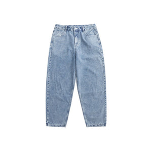 Loose Straight Washed Jeans 7
