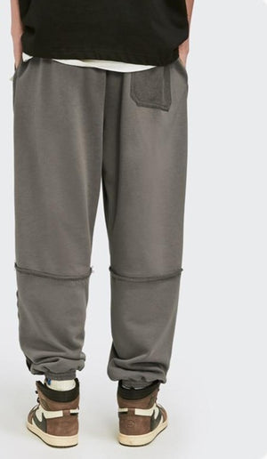"""Be You, Do You, For You"" Charcoal Jogger Pants 4"