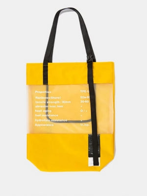 Weekend Tote Bag in Yellow Color - This Is For Him