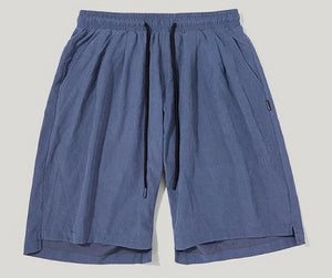 Oversize Solid Colour Vintage Shorts