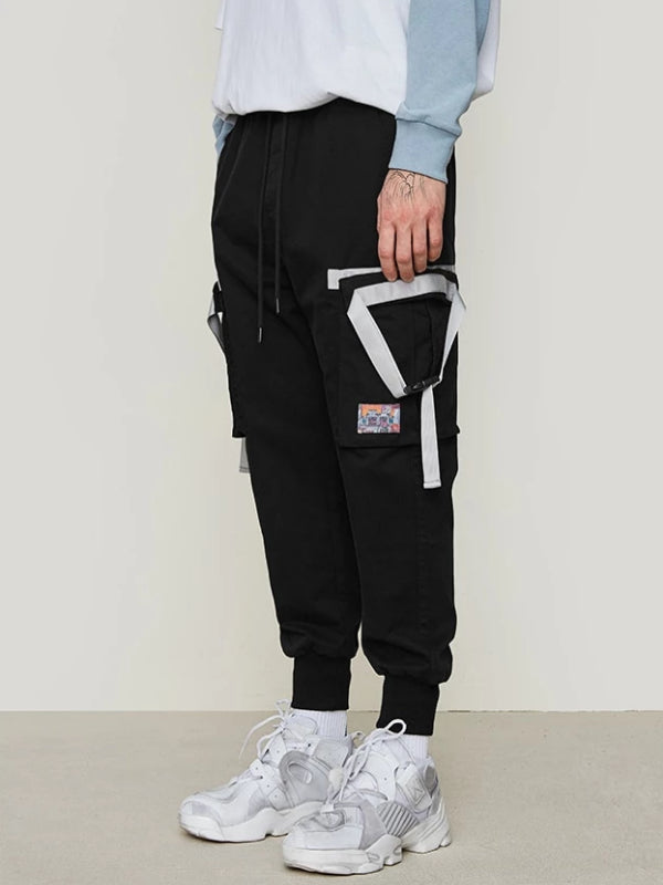 Side Tape Design Pants