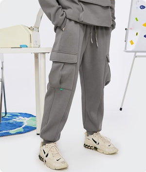 Fleece Sweatpants Mid Grey 2