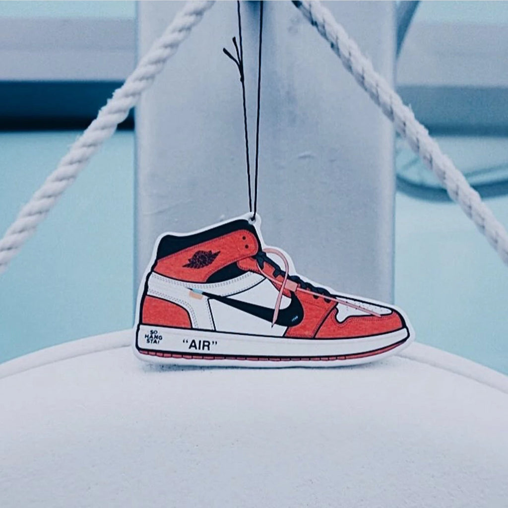 "Air Jordan 1 ""Off White"" Air Freshener - This Is For Him"