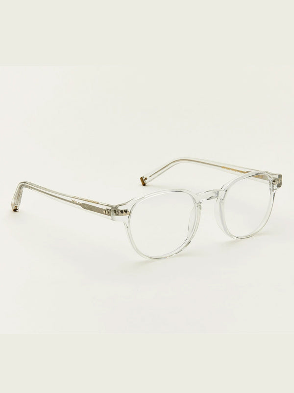 Moscot Arthur Optical Glasses in Crystal Color