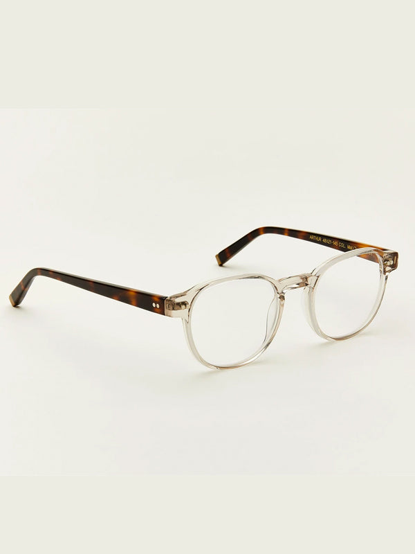 Moscot Arthur Optical Glasses in Mist/Tortoise Color