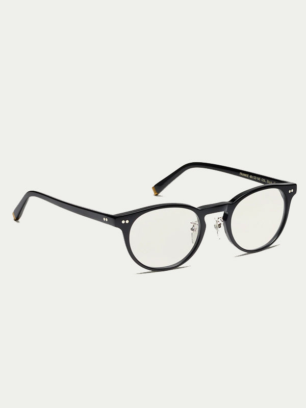 Moscot Frankie (Alternative Fit Classics) Optical Glasses in Black Color