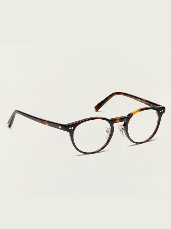 Moscot Frankie (Alternative Fit Classics) Optical Glasses in Tortoise Color