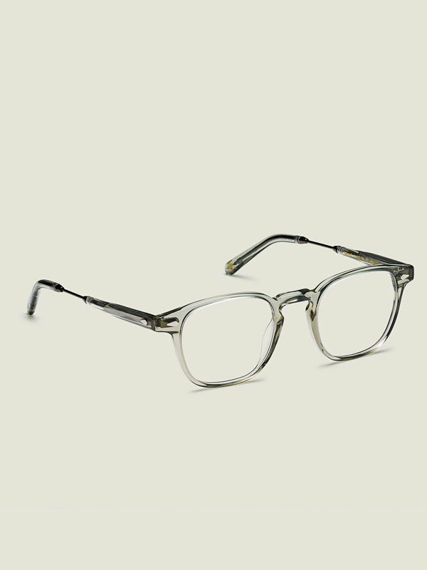 Moscot Genu Optical Glasses in Sage/Pewter Color