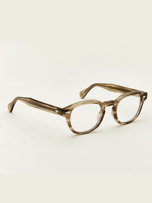 Moscot Lentosh Optical Glasses in Brown Ash Color