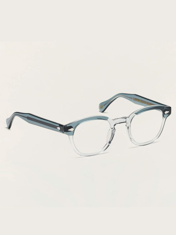 Moscot Lentosh Optical Glasses in Light Blue Grey Color