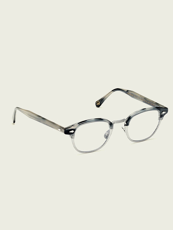 Moscot Lentosh-MAC Optical Glasses in Tortoise/Silver Color