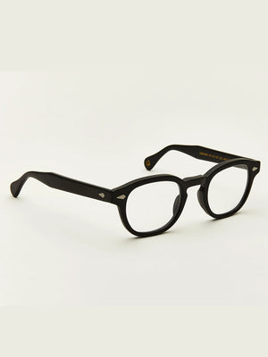 Moscot Lentosh Optical Glasses in Matte Black Color