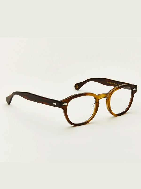 Moscot Lentosh Optical Glasses in Tobacco Color