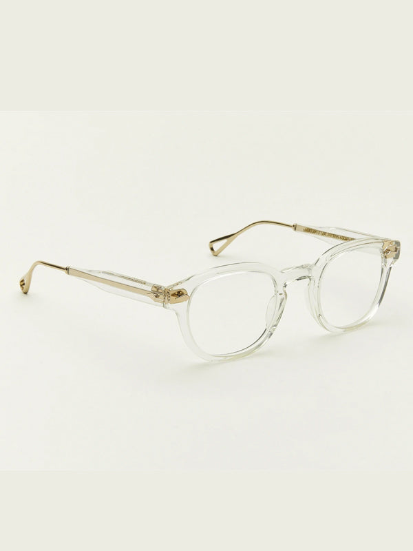 Moscot Lentosh-TT SE Optical Glasses in Crystal Gold Color