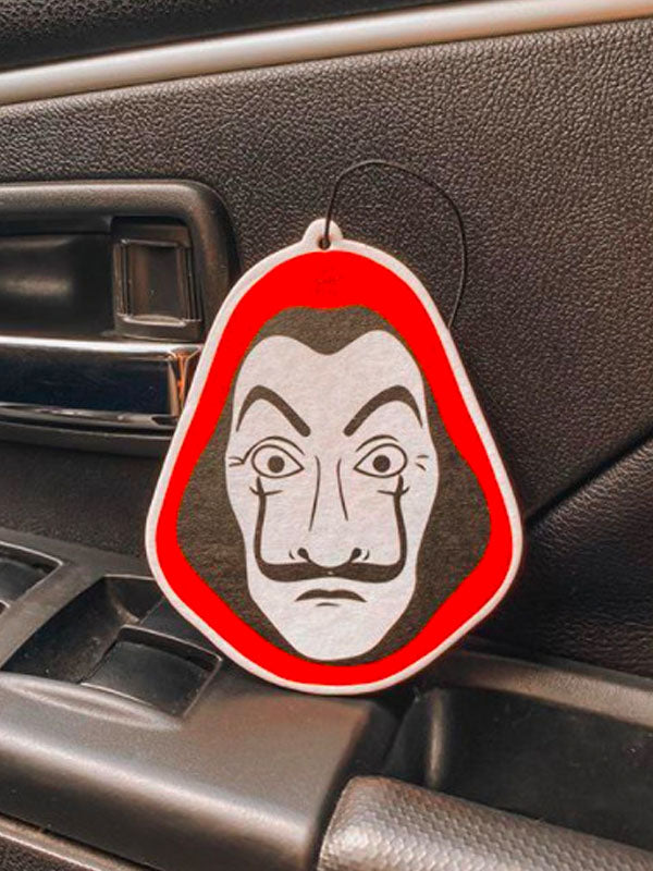 Money Heist Mask Freshener
