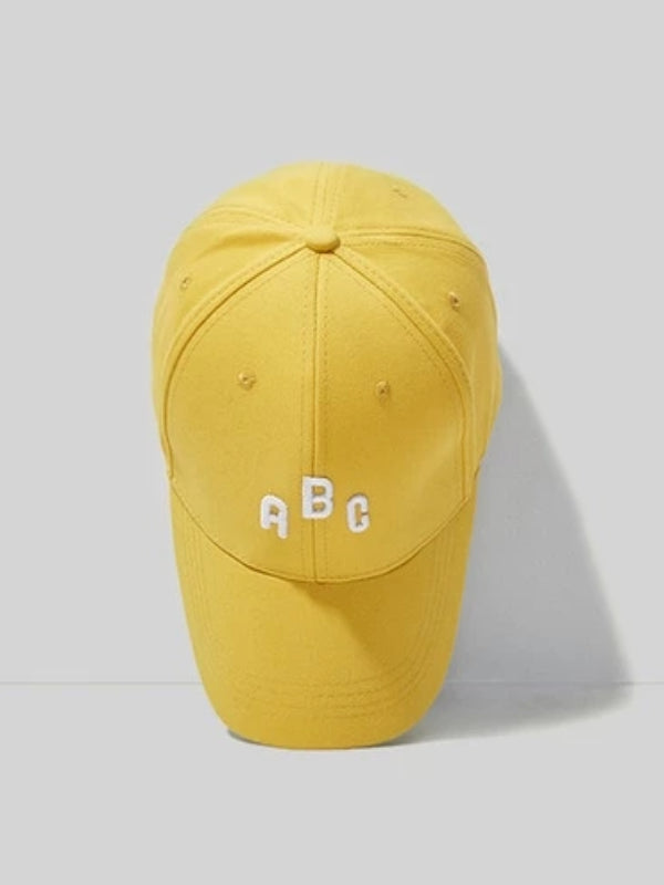 ABC Cap in Yellow Color