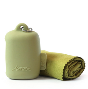 Matador NanoDry Trek Towel (Small) in Moss Color