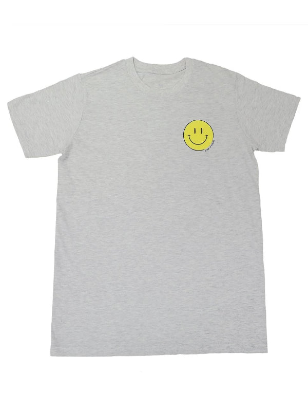 Smiling Face Tee (Grey) - This Is For Him