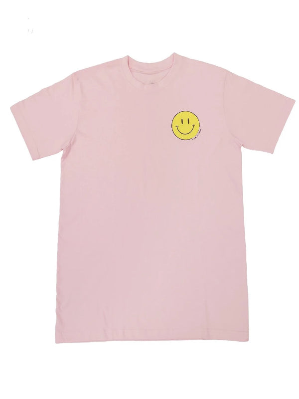 Smiling Face Tee (Pink) - This Is For Him