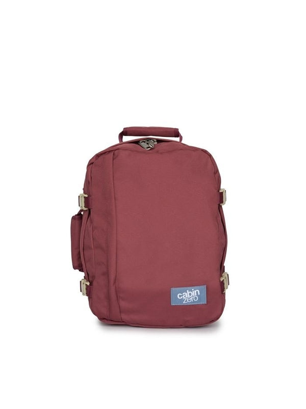Cabinzero Classic 28L Ultra-Light Cabin Bag in Napa Wine Color