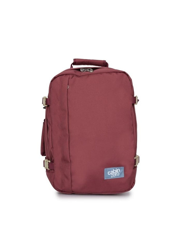 Cabinzero Classic 36L Ultra-Light Cabin Bag in Napa Wine Color