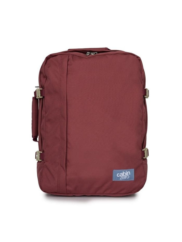 Cabinzero Classic 44L Ultra-Light Cabin Bag in Napa Wine Color