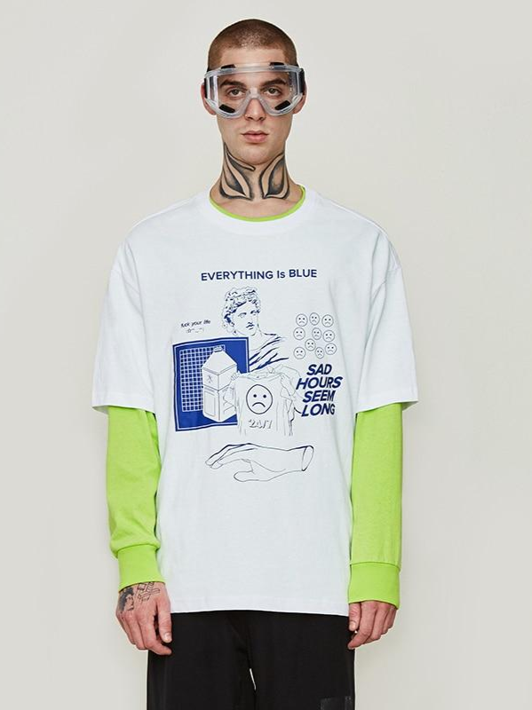 """Everything Is Blue"" T-Shirt - This Is For Him"