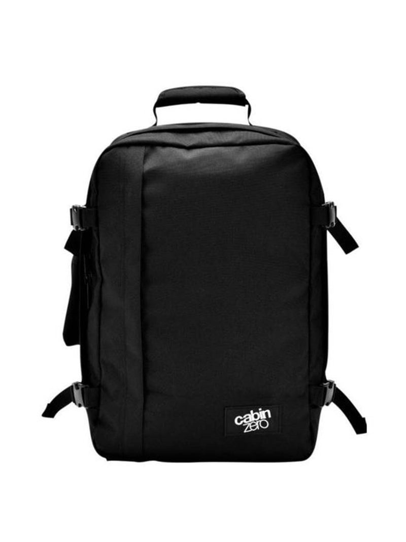Cabinzero Classic 36L Ultra-Light Cabin Bag in Absolute Black Color