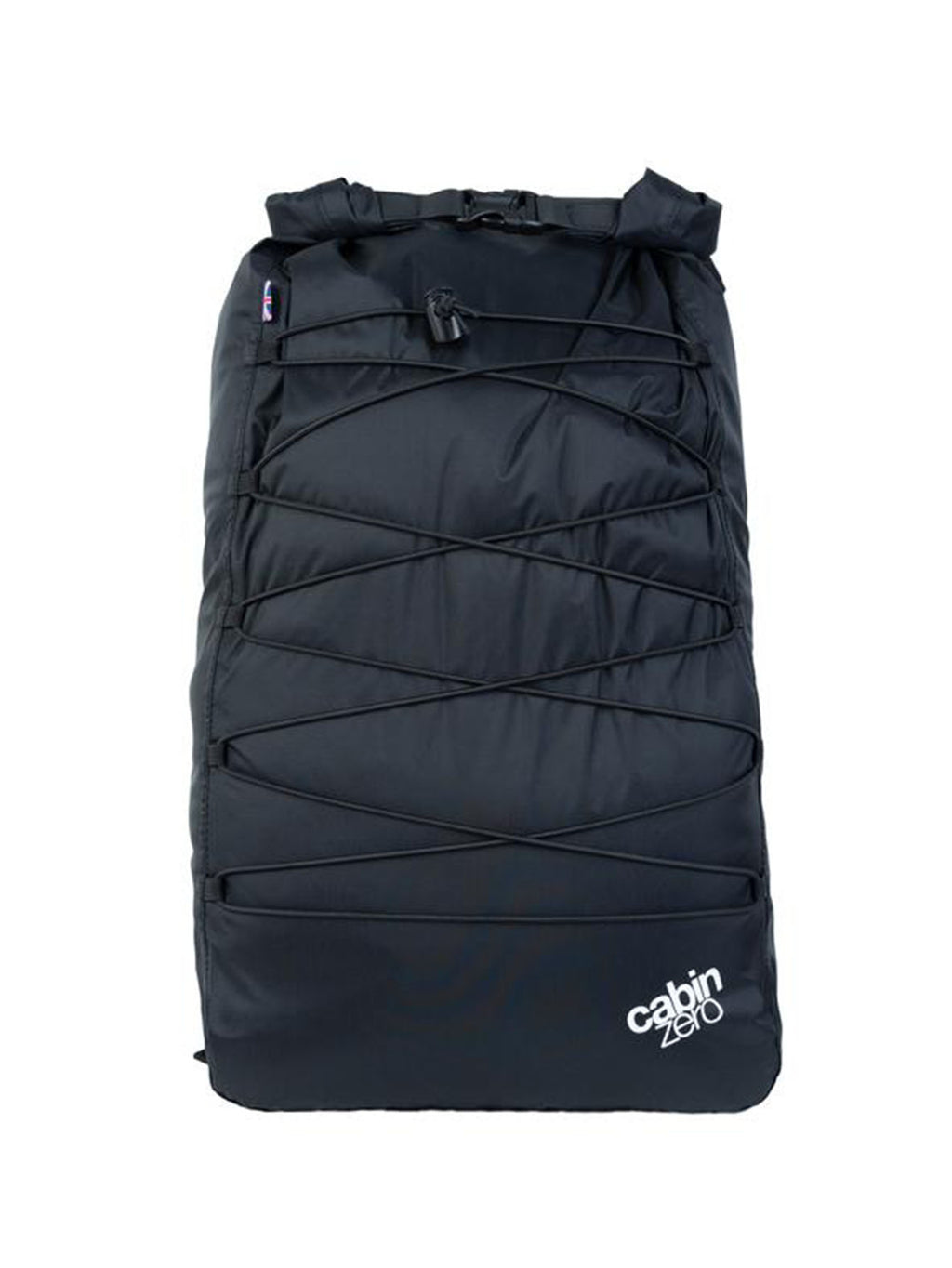 Cabinzero ADV Dry Waterproof Cross Body Bay 30L in Absolute Black Color