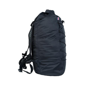 Cabinzero Adventure Dry Waterproof Cross Body Bay 30L in Absolute Black Color