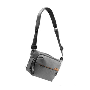 Peak Design Everyday Sling 6L Zip in Ash Color 2