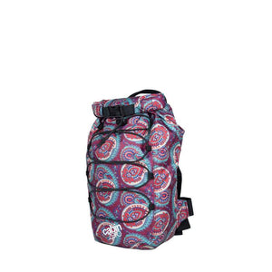 Cabinzero ADV Dry 11L V&A Waterproof Crossbody Bag in Paisley Print 3